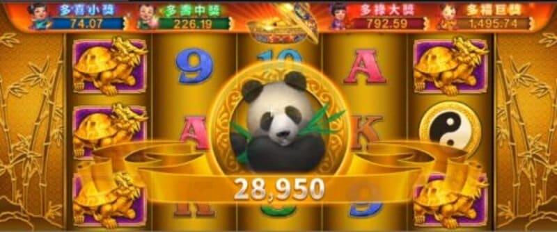 3. เกม BK8 สล็อต Lucky Panda